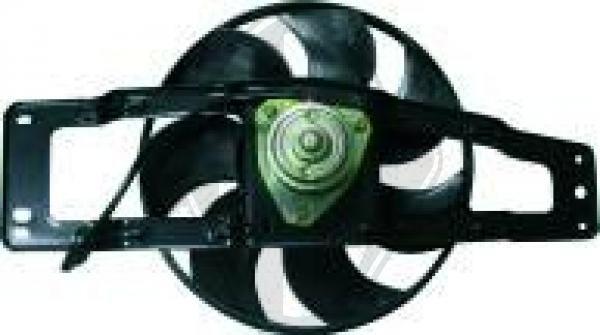 Ventilateur, refroidissement du moteur - Diederichs Germany - 4480001