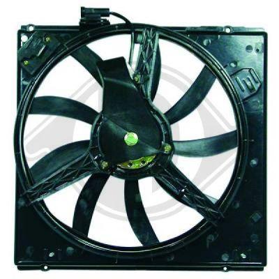 Ventilateur, refroidissement du moteur - HDK-Germany - 77HDK4480101