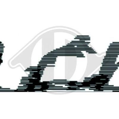 Grille de radiateur - Diederichs Germany - 5000040