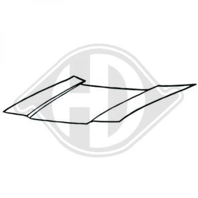 Capot-moteur - Diederichs Germany - 5203000