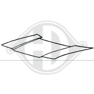 Capot-moteur - Diederichs Germany - 5203200