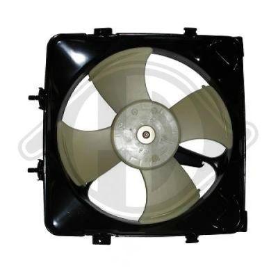 Ventilateur, condenseur de climatisation - Diederichs Germany - 5205001