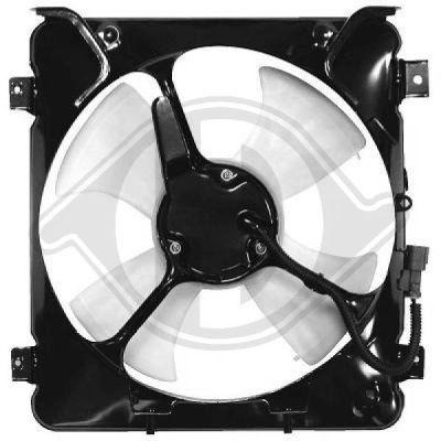 Ventilateur, condenseur de climatisation - Diederichs Germany - 5206001
