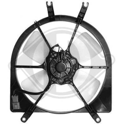 Ventilateur, refroidissement du moteur - Diederichs Germany - 5206101