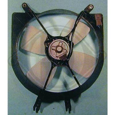 Ventilateur, refroidissement du moteur - Diederichs Germany - 5207101