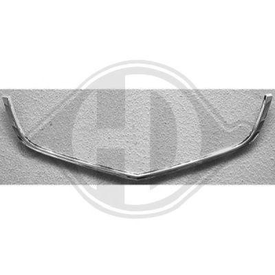 Cadre, grille de radiateur - Diederichs Germany - 5219008