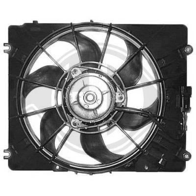 Ventilateur, refroidissement du moteur - Diederichs Germany - 5240102