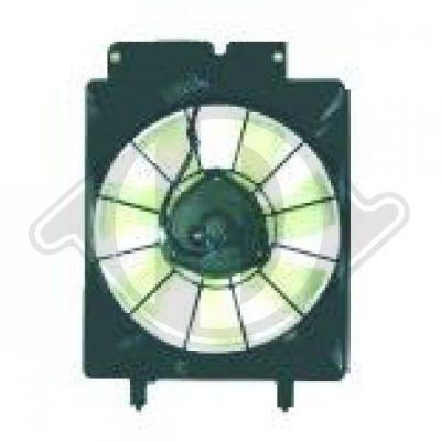 Ventilateur, condenseur de climatisation - Diederichs Germany - 5281801