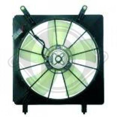 Ventilateur, refroidissement du moteur - Diederichs Germany - 5281901