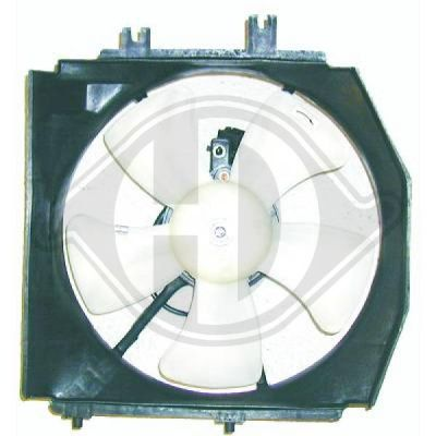Ventilateur, refroidissement du moteur - Diederichs Germany - 5617001