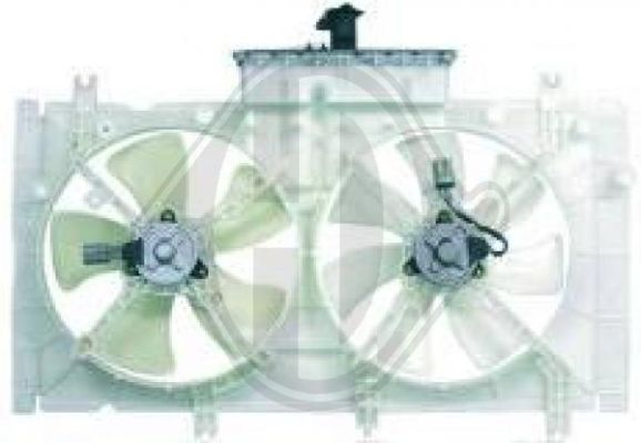 Ventilateur, refroidissement du moteur - Diederichs Germany - 5625101