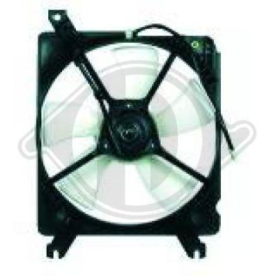 Ventilateur, condenseur de climatisation - HDK-Germany - 77HDK5651001