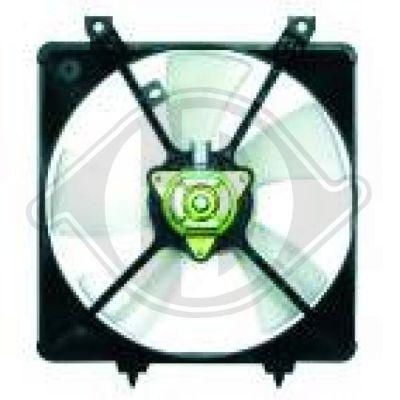 Ventilateur, refroidissement du moteur - Diederichs Germany - 5651101