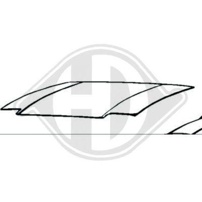 Capot-moteur - Diederichs Germany - 5670000