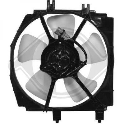 Ventilateur, refroidissement du moteur - Diederichs Germany - 5680101