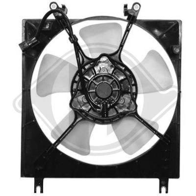 Ventilateur, refroidissement du moteur - Diederichs Germany - 5806101