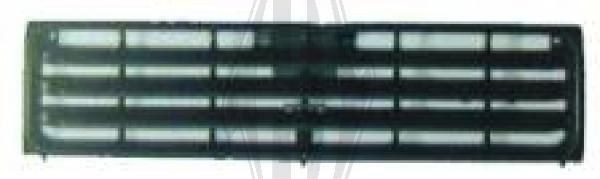 Grille de radiateur - Diederichs Germany - 5841840