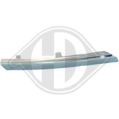 Baguette et bande protectrice, grille de radiateur - Diederichs Germany - 6016149