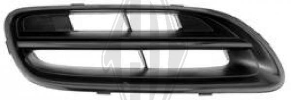 Grille de radiateur - Diederichs Germany - 6023042