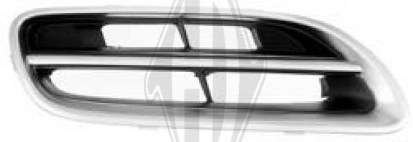 Grille de radiateur - Diederichs Germany - 6023044