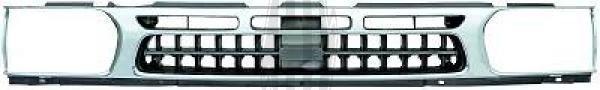 Grille de radiateur - HDK-Germany - 77HDK6083040