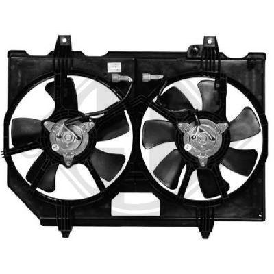 Ventilateur, refroidissement du moteur - Diederichs Germany - 6085801