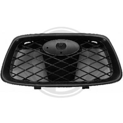 Grille de radiateur - Diederichs Germany - 6234040
