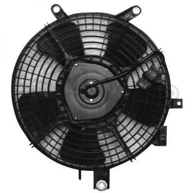 Ventilateur, condenseur de climatisation - Diederichs Germany - 6413001