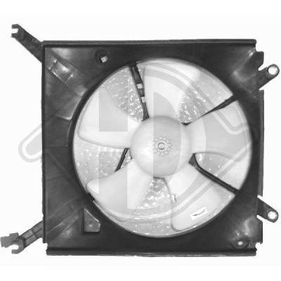 Ventilateur, refroidissement du moteur - HDK-Germany - 77HDK6413101