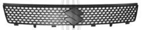 Grille de radiateur - Diederichs Germany - 6414040