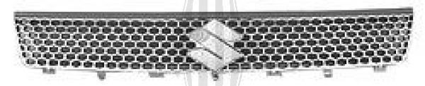 Grille de radiateur - Diederichs Germany - 6414041