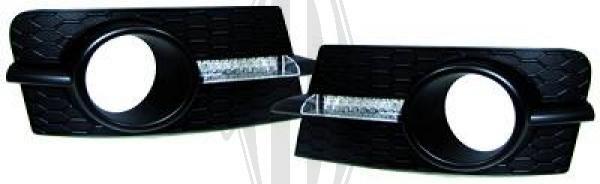 Grille de ventilation, pare-chocs - HDK-Germany - 77HDK6414545