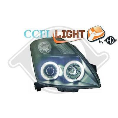 Bloc-optique, projecteurs principaux - HDK-Germany - 77HDK6414581