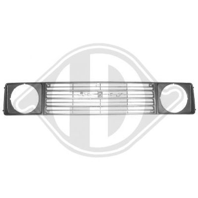 Grille de radiateur - Diederichs Germany - 6420840