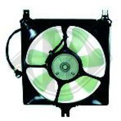 Ventilateur, refroidissement du moteur - Diederichs Germany - 6435801