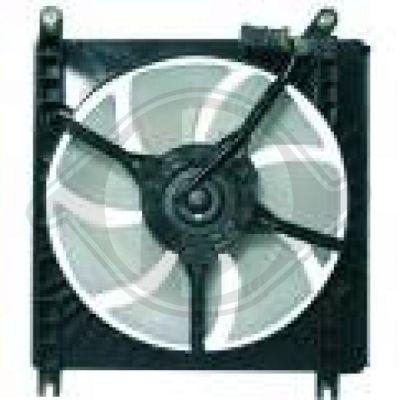 Ventilateur, condenseur de climatisation - Diederichs Germany - 6440001