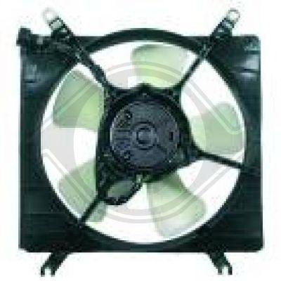 Ventilateur, refroidissement du moteur - Diederichs Germany - 6440101