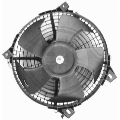 Ventilateur, condenseur de climatisation - Diederichs Germany - 6450101