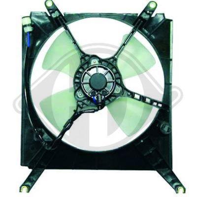 Ventilateur, refroidissement du moteur - Diederichs Germany - 6450201