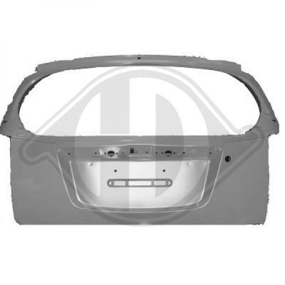 Couvercle de coffre à bagages/de compartiment de chargement - Diederichs Germany - 6505028