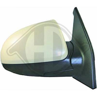 Rétroviseur extérieur - HDK-Germany - 77HDK6505324