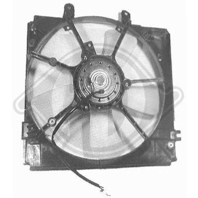 Ventilateur, refroidissement du moteur - Diederichs Germany - 6530101