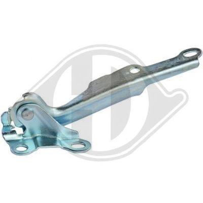 Charnière, capot-moteur - Diederichs Germany - 6605018