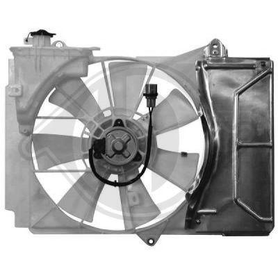 Ventilateur, refroidissement du moteur - Diederichs Germany - 6605101