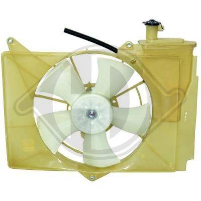 Ventilateur, refroidissement du moteur - Diederichs Germany - 6605103
