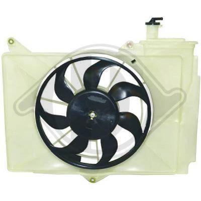 Ventilateur, refroidissement du moteur - Diederichs Germany - 6605104