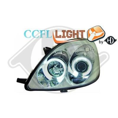 Bloc-optique, projecteurs principaux - Diederichs Germany - 6605381