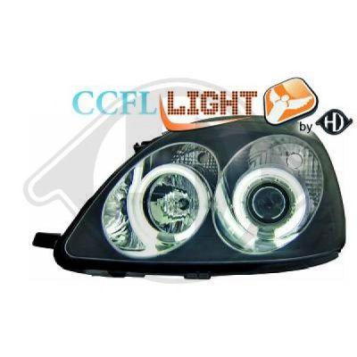 Bloc-optique, projecteurs principaux - HDK-Germany - 77HDK6605481