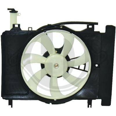 Ventilateur, refroidissement du moteur - Diederichs Germany - 6606101