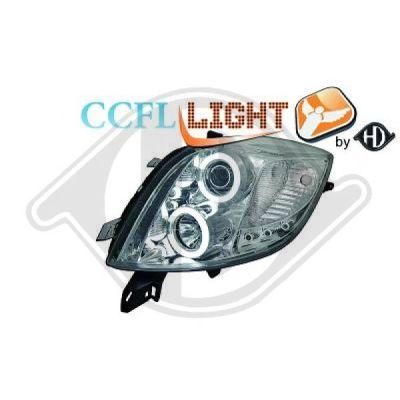 Bloc-optique, projecteurs principaux - Diederichs Germany - 6606481